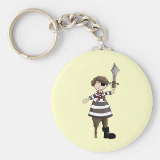 Peg-leg Pirate Key Chains