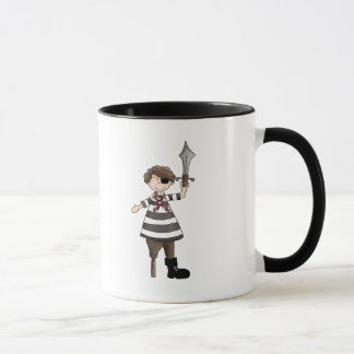 Peg-leg Pirate Mug