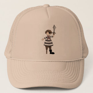Peg-leg Pirate Trucker Hat