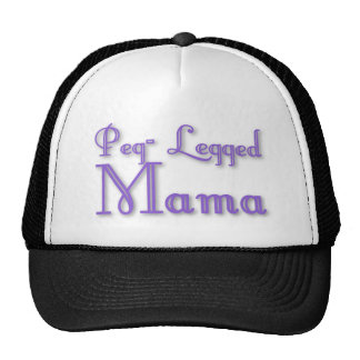 Peg-Legged Mama Hat
