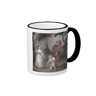 Peg Woffington as Rosalind with Celia and Touchsto Ringer Coffee Mug