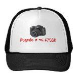 Pegado a mi K100D Mesh Hats