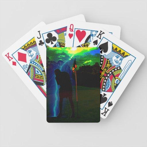 Pegado Baraja Cartas De Poker