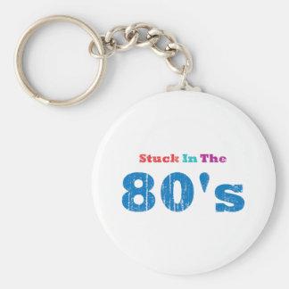 Pegado en los años 80 llaveros