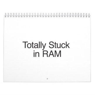 Pegado totalmente en RAM Calendarios