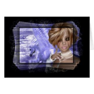 Pegagus & Fairy - Fantasy Product Line Card