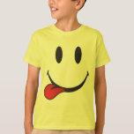 Pegar hacia fuera emoji de la lengua playera