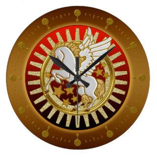 Pegasi Wall Clock