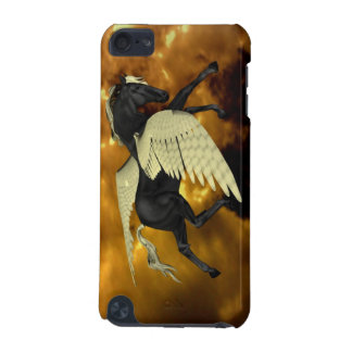Pegaso con alas de oro