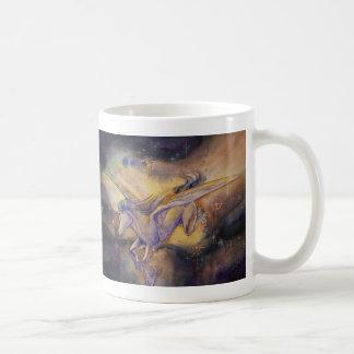 Pegaso con la nebulosa taza de café