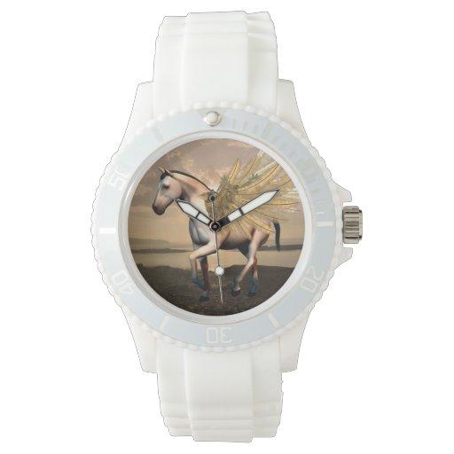 Pegaso dulce reloj de mano