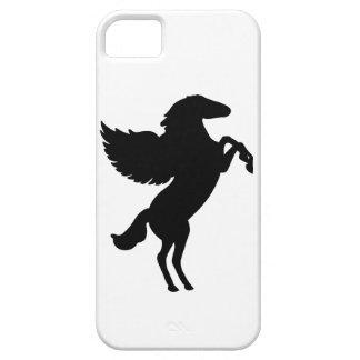 Pegaso el caballo con alas iPhone 5 carcasa