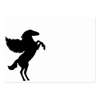 Pegaso el caballo con alas tarjetas de visita