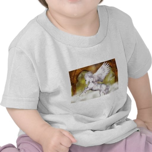 Pegaso elegante camiseta