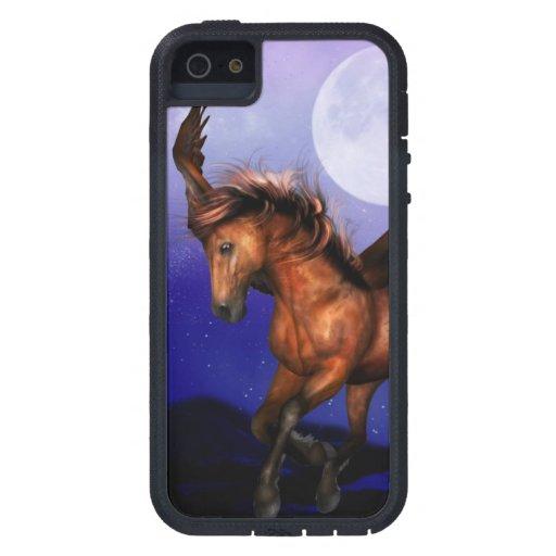 Pegaso encantado iPhone 5 Case-Mate carcasas
