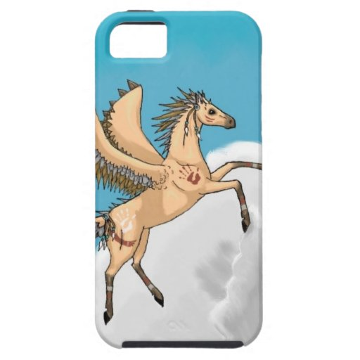 Pegaso nativo iPhone 5 carcasa