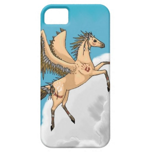 Pegaso nativo iPhone 5 Case-Mate coberturas