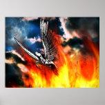 Pegaso - valor, alas fuertes y un corazón puro poster