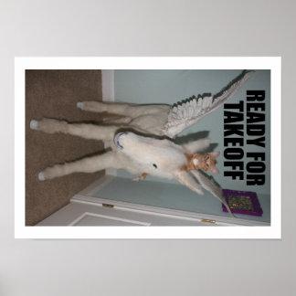 PEGASO y cazador S Thomcat Poster