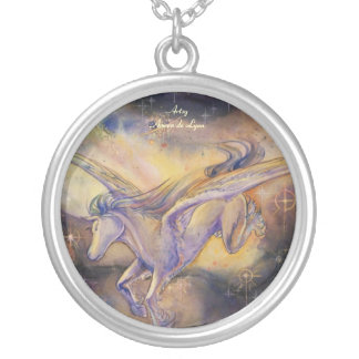Pegassus con la nebulosa colgante redondo