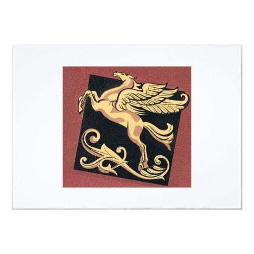 "Pegasus 5"" X 7"" Invitation Card"