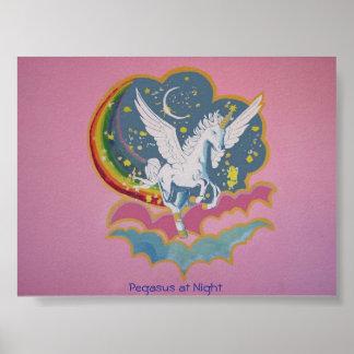 Pegasus at Night Poster