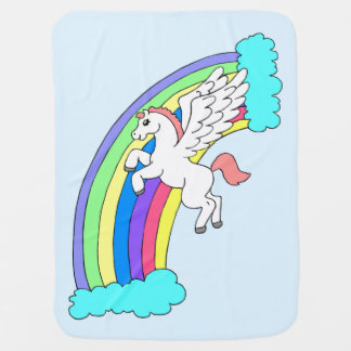 Pegasus Baby Blanket