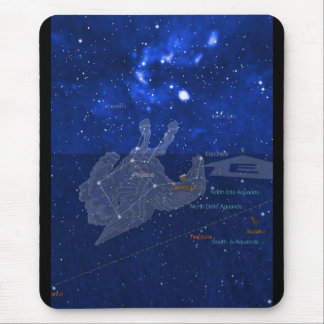 Pegasus constellation mouse pad