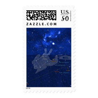 Pegasus constellation postage