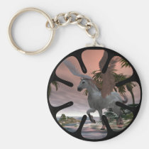 pegasus, cove, keychain, dragons, fantasy, dragon, medievil, chinese, castle, castles, fantasies, fire, art, fairy, faery, fairies, faeries, fae, unicorns, unicorn, elves, elf, flying, creatures, creature, skeletons, skeleton, skull, skulls, wolf, wolves, gothic, dark, star, seven, computer, graphics, graphic, pointed, wizard, Keychain with custom graphic design