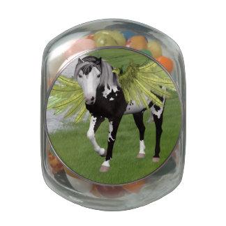 Pegasus Dreams Glass Jar