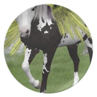 Pegasus Dreams Melamine Plate