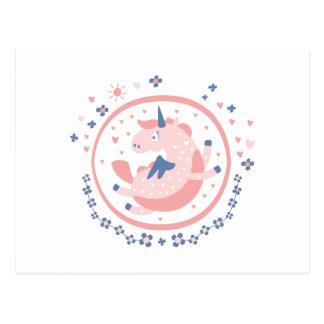 Pegasus Fairy Tale Character Postcard