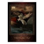 Pegasus Fantasy Art Greetings Card