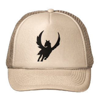 Pegasus fantasy trucker hat