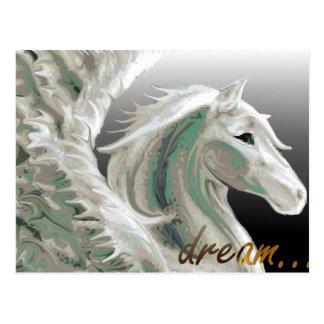 Pegasus Flight Postcard