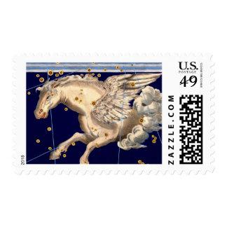 Pegasus Flying Horse Astronomy Mythology Fantasy Postage