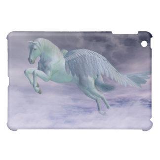 Pegasus Galloping through Storm Clouds iPad Mini Cover