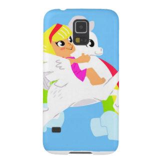 Pegasus Girl Galaxy S5 Case