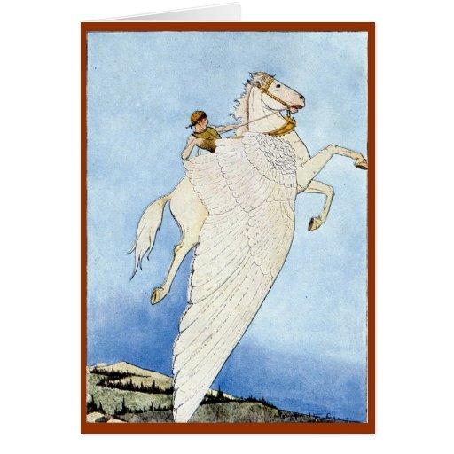 Pegasus Greeting Cards