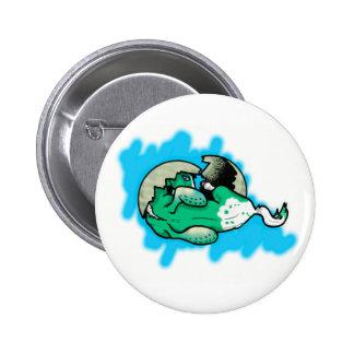 Pegasus Hatchling 2 Pinback Button
