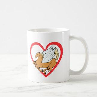 Pegasus Heart Mug