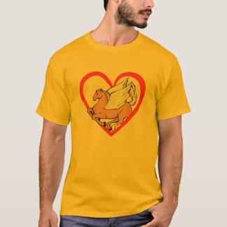 Pegasus Heart T-Shirt