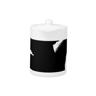 Pegasus Horse Silhouette Teapot