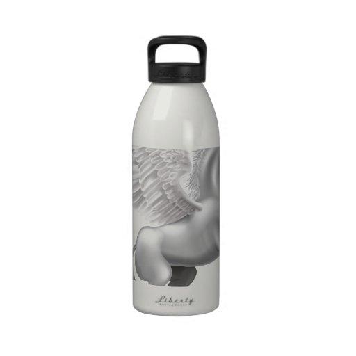 Pegasus horse water bottle