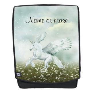 Pegasus in daisies backpack