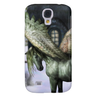 Pegasus in Forest Samsung Galaxy S4 Cover