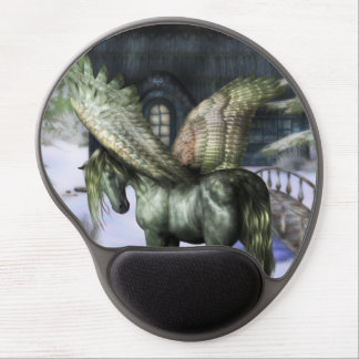 Pegasus in Forest Gel Mouse Mats
