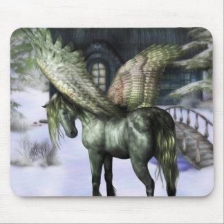 Pegasus in Forest Mouse Pad