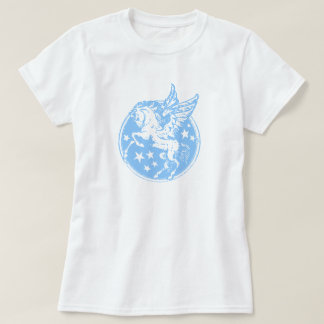 Pegasus in Pale Blue T-Shirt